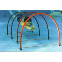 """Stand up"" Half Diving Rings"