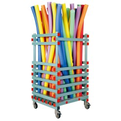 REA Plastic Pool Noodle Trolley