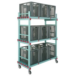REA Plastic Storage Trolley