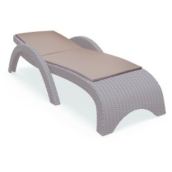 Sun lounger cushion Stone