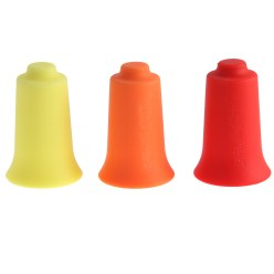 "BellaBambi ""Original Trio"" Cupping Cups 1x Lemon Yellow, 1x orange, 1x Ruby Red"