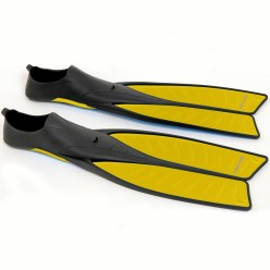 "Sport-Thieme® ""G-Power"" Swimming Fins 35-36, L: 50 cm, yellow"