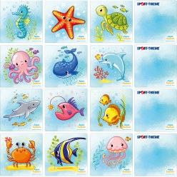 Aqua Pairs Game Mini
