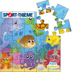Puzzle Water Game Sea creatures, Square