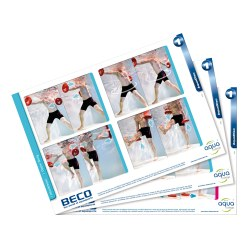 "Beco ""Aqua Disc"" Cue Cards"