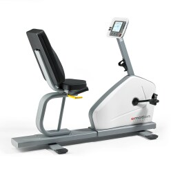 "Emotion Fitness ""Motion Relax 600"" Recumbent Ergometer Exercise Bike"