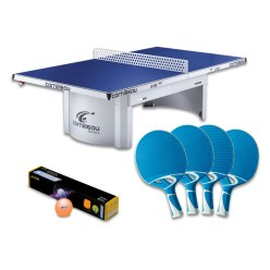"Cornilleau® ""PRO 510 Outdoor"" Table Tennis Table Set"