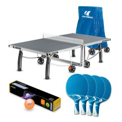 "Cornilleau® ""PRO 540 Outdoor"" Table Tennis Table Set"