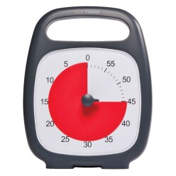 "Time Timer® ""Plus"" 60 minutes, Black"