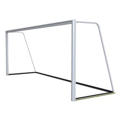 Football Goal 7.32x2.44m, Fully Welded with PlayersProtect