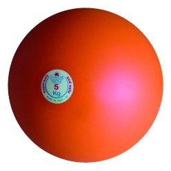 Trial® Shot Put 6 kg, red