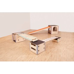"Cube Sports U3 ""Set IV"" Exercise Area"