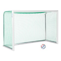 "Sport-Thieme® ""Professional Compact"" Aluminium Mini Training Goal, white, powder-coated"