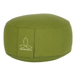 """Rondo"" Cushion Green, ø 30 cm, H: 12 cm"