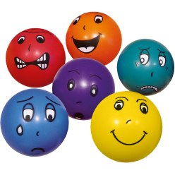 """Emotional Faces"" Ball Set"