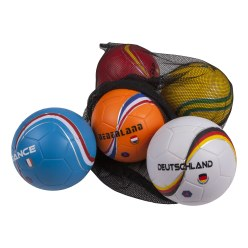 "Sport-Thieme® ""Countries"" PU Foam Ball Set"