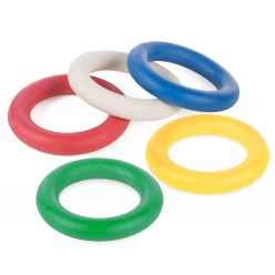 Sport-Thieme® Set of 5 Tournament Tennis Rings