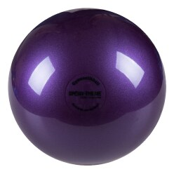 "Sport-Thieme® ""300"" High-Gloss Gymnastics Ball  Purple"