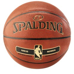 "Spalding ""NBA Gold"" Basketball"