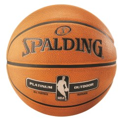 "Spalding ""NBA Platinum Outdoor"" Basketball"