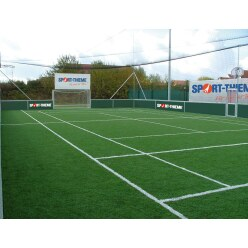 Artificial Grass for Stationary Outdoor Street Football Courts