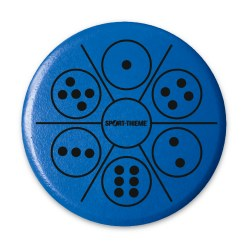 Sport-Thieme® Educational Throwing Discs  Numbers