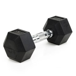 Sport-Thieme® Hex Compact Rubber Dumbbell