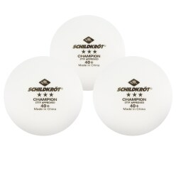 "Schildkröt® ""3-Star Champion"" Table Tennis Balls"