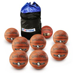 Spalding Basketball Set