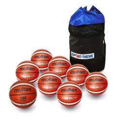 "Molten® ""School"" Basketball Set"