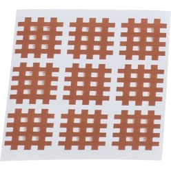 "KS-Medical ""Cross-Patches"" KS Patches 180 patches (27x21 mm), beige"