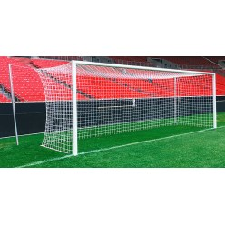 Stadium Full-Sized Football Goal with Recessed Ground Frame