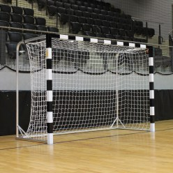 with wrapped goal frames Handball Goal
