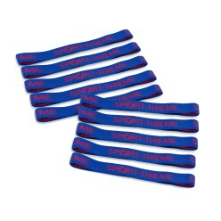 "Sport-Thieme® Set of 10 ""Ring"" Elasticated Textile Bands"