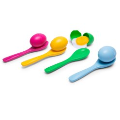 Buiten Speel Egg-and-Spoon Race Game