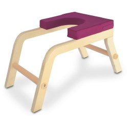 Siya Yoga Headstand Stool Berry, Free-standing
