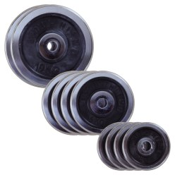 Sport-Thieme Chrome Weight Disc Set, 50 kg