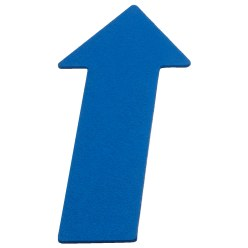 Sport-Thieme Floor Markers Blue, Arrow, 35 cm