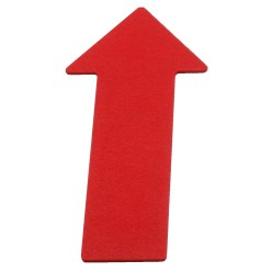 Sport-Thieme® Floor Markers Red, Line, 35 cm