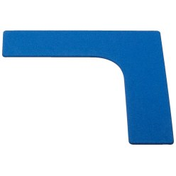 Sport-Thieme Floor Markers Blue, Foot, 19 cm