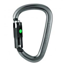 "Petzl ""William Ball Lock"" Snap Hook"