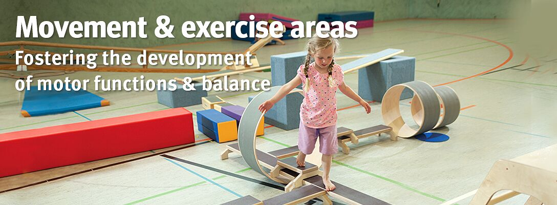 Movement & exercise areas