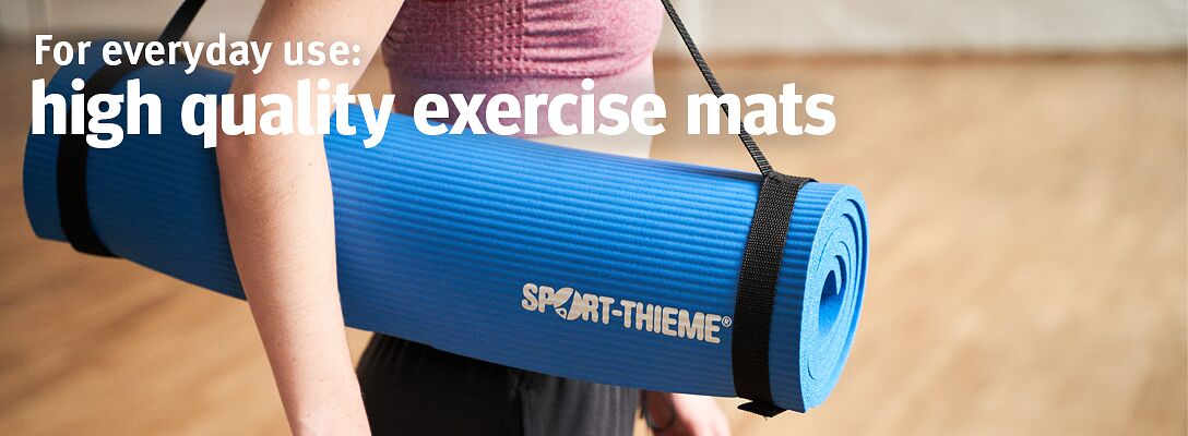Exercise mat - for everyday use