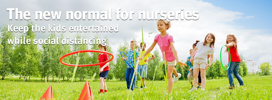 Nurseries: learning through play and running riot