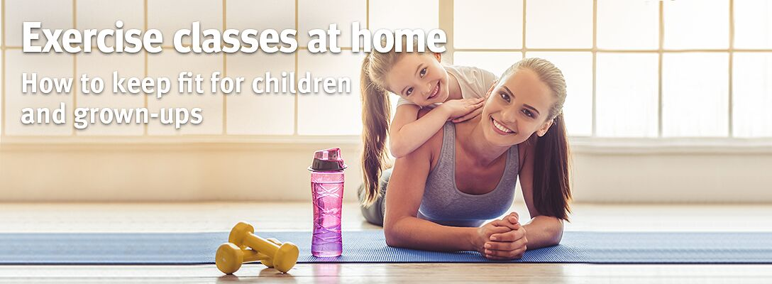 Excercise classes at home