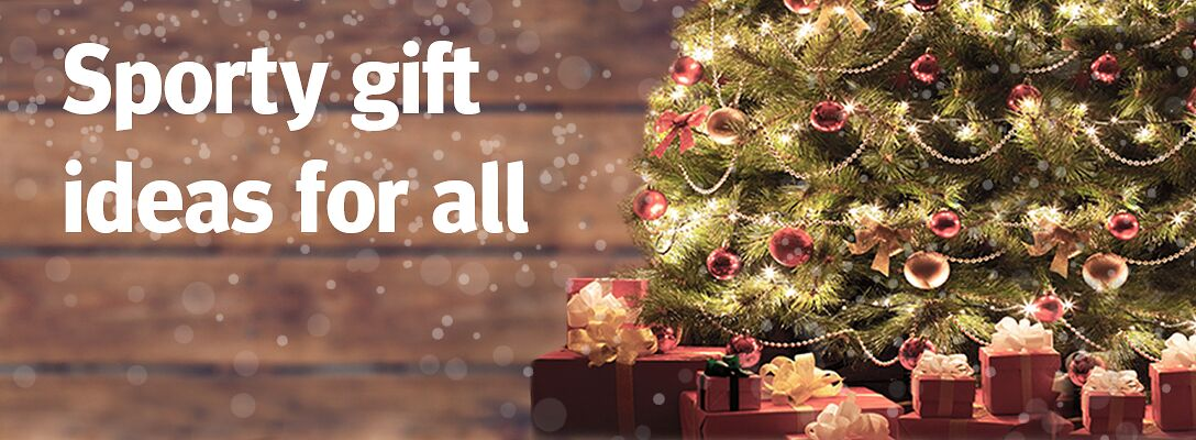 Sporty gift ideas for all