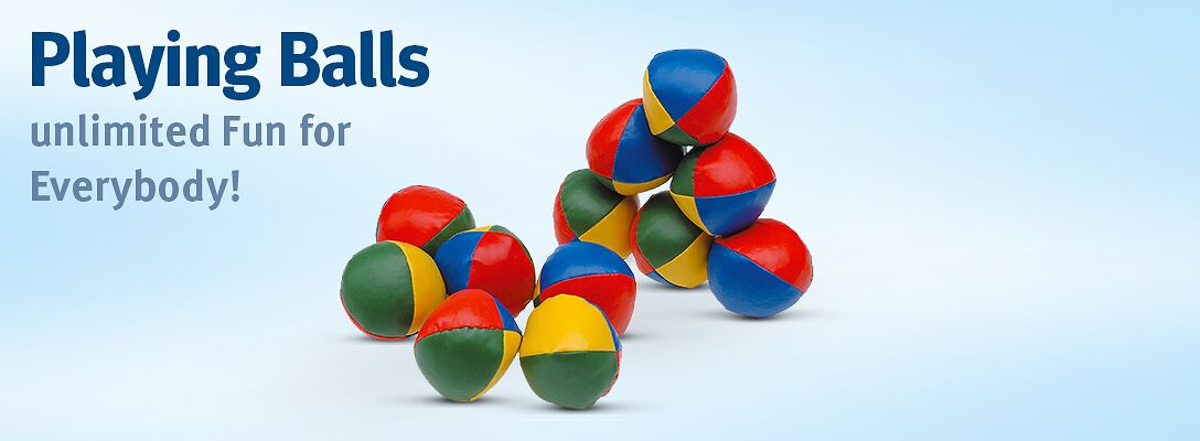 Playing balls: order here!