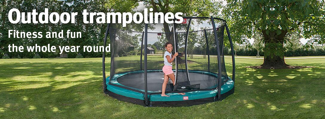 Outdoor trampolines: fitness and fun