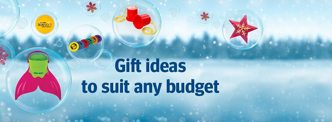 Gift ideas - presents to suit any budget