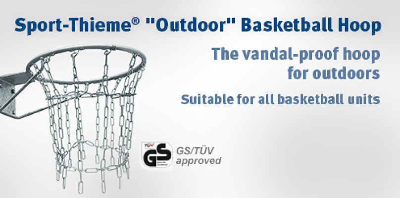 "Sport-Thieme ""Outdoor"" Basketball Hoop - The vandal-proof hoop for outdoors"